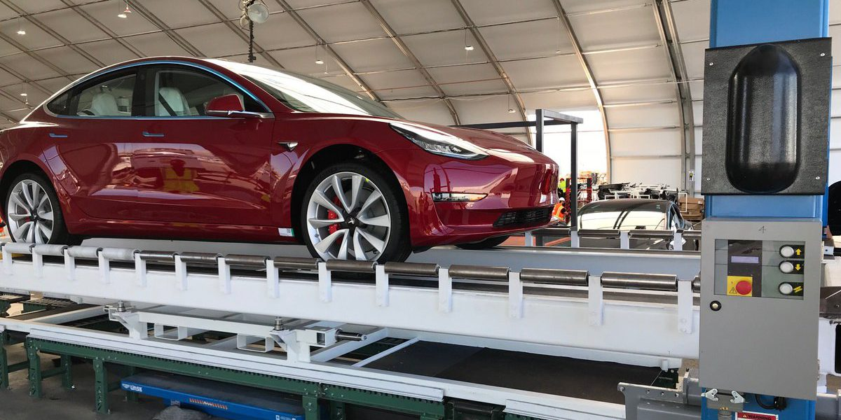 Tesla Model 3 Mid Range Battery Pack Energy Capacity Revealed First Units Produced