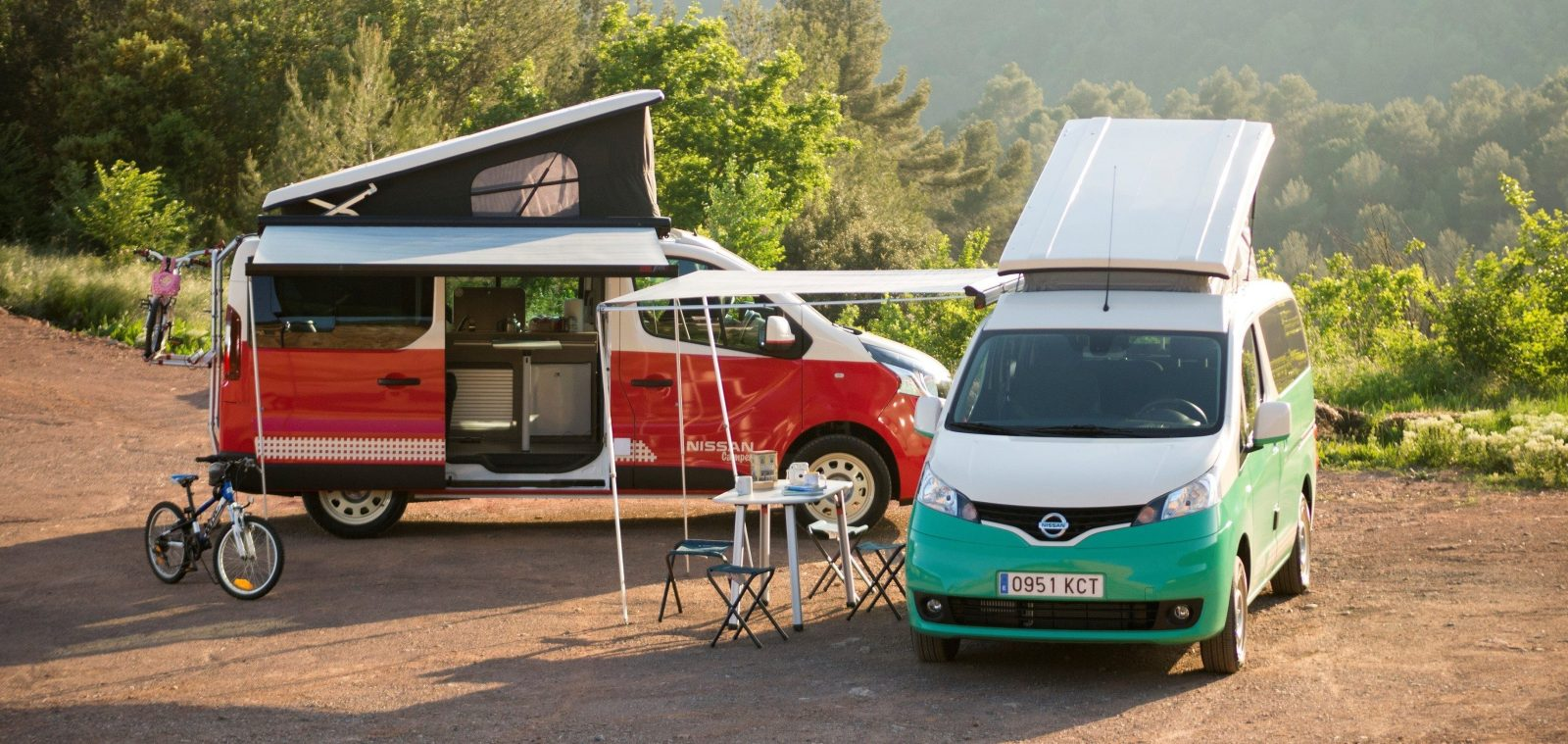 Nissan Unveils All Electric Camper Based On The E Nv200 Van