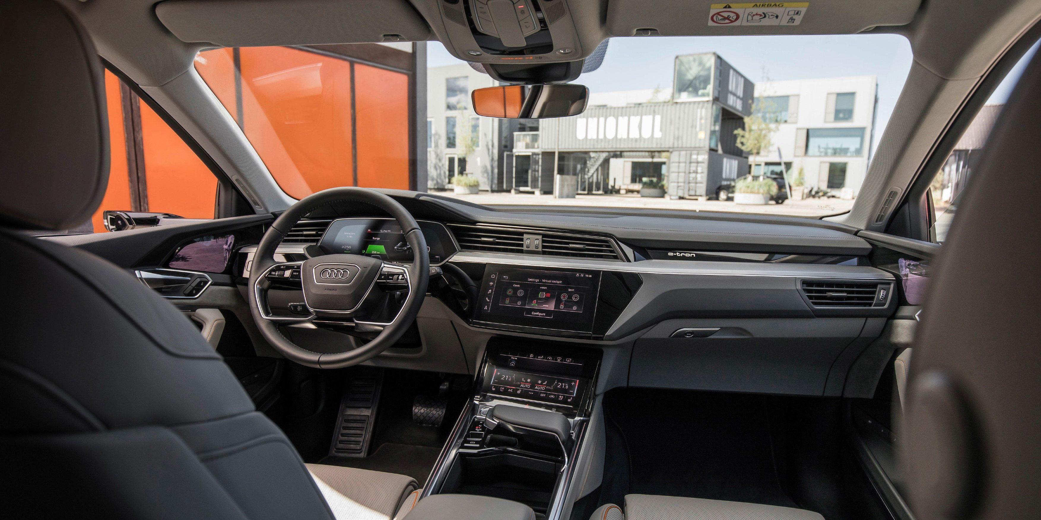 Audi Unveils E Tron Quattro Electric SUVu0027s Interior