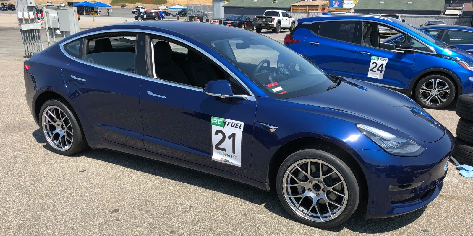 Tesla Model 3 With Small Mods Sets New Record At Laguna Race Track