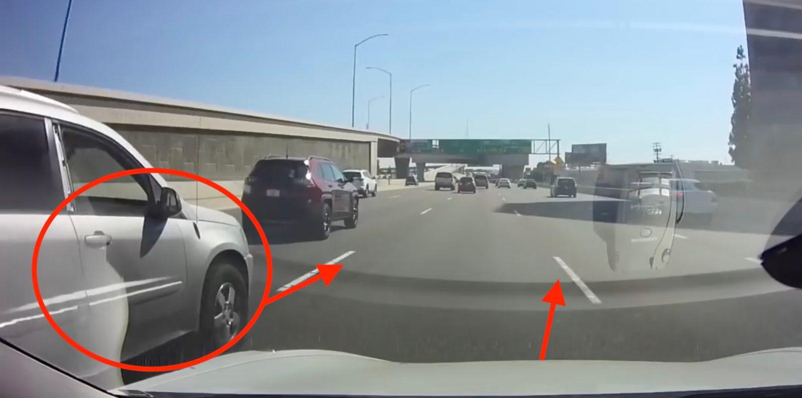 Tesla Model 3 on Autopilot avoids crash in near-miss caught on