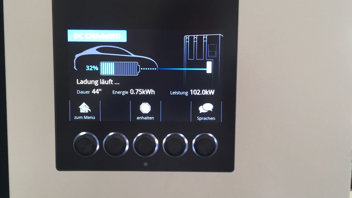 Nissan Leaf Prototype With New 60 Kwh Battery Pack Leaked Fast Load Test Electronics And Electrical Engineering Design Now Swiss Electric Car Charging Station Maker Evtec Confirms Some Of Those Details As It Releases On Twitter Images Them Testing Their Charger