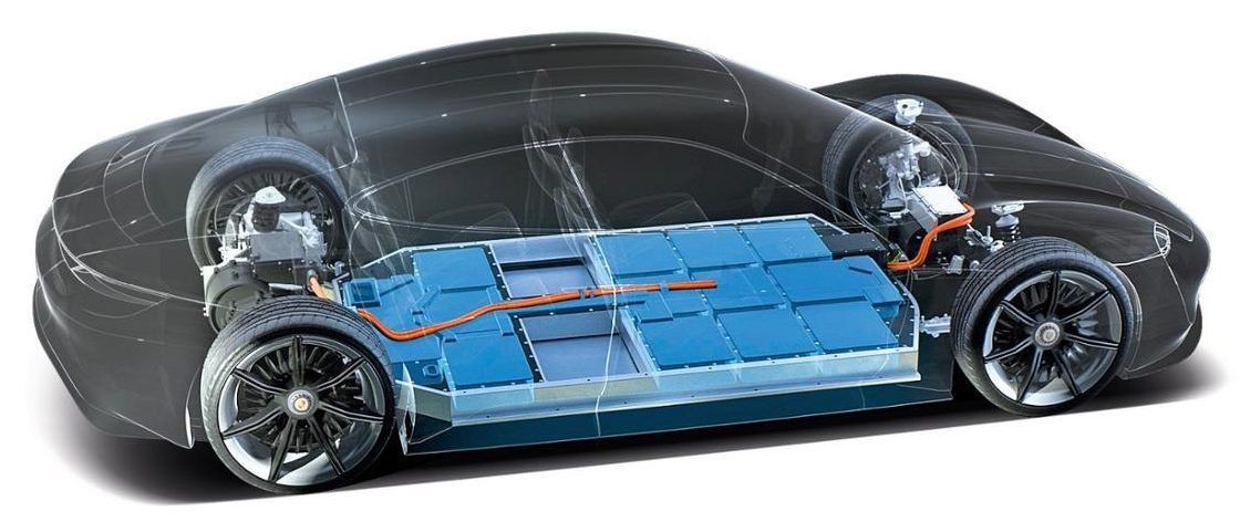 Image result for porsche taycan battery
