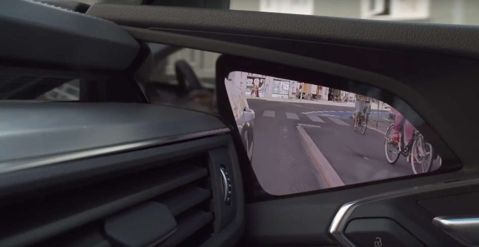 Watch How Audis Virtual Mirrors With Cameras Work In The New - Audis