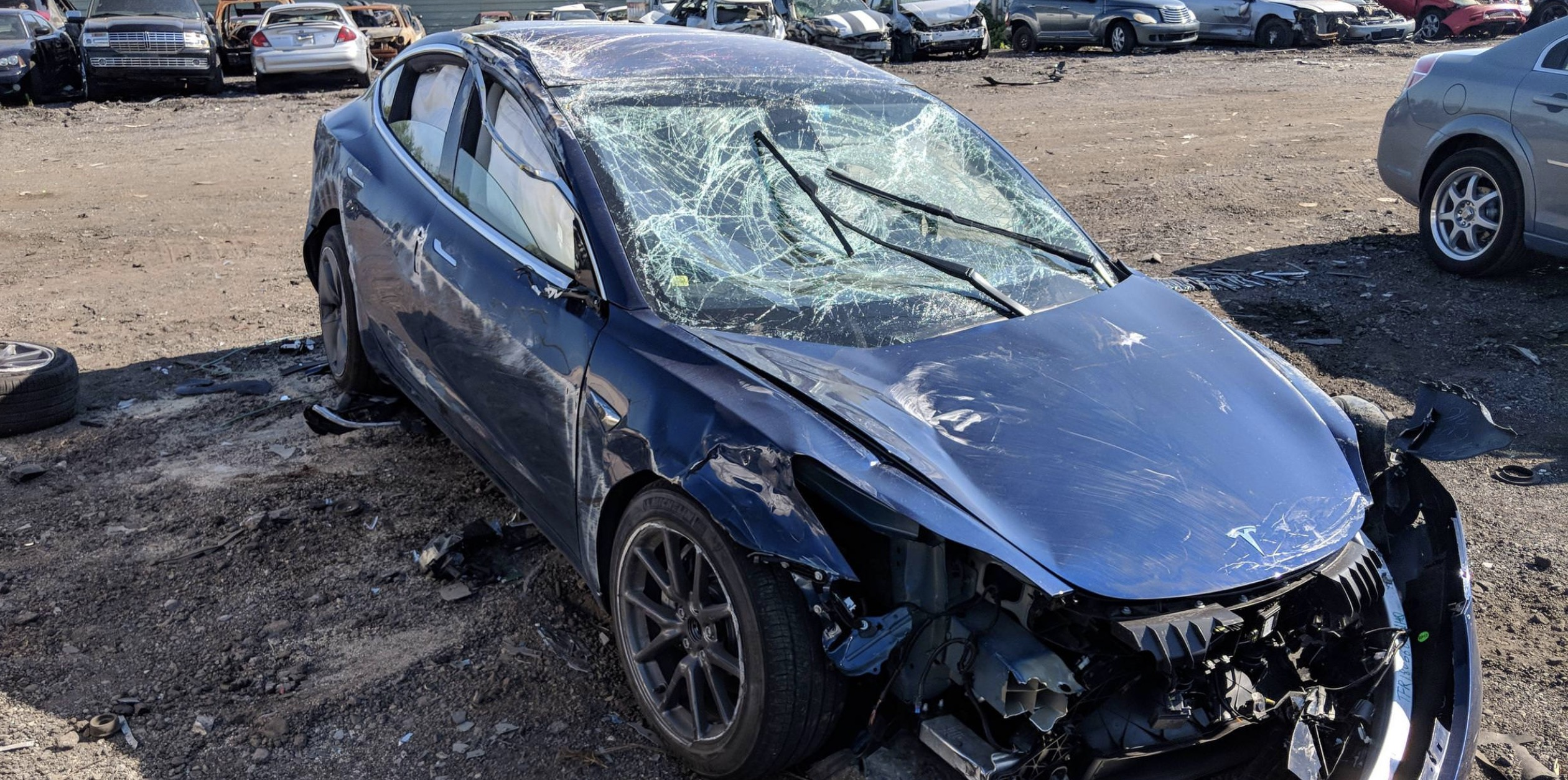 First Tesla Model 3 rollover crash: 'only minor injuries, car performed exceptionally well', says owner