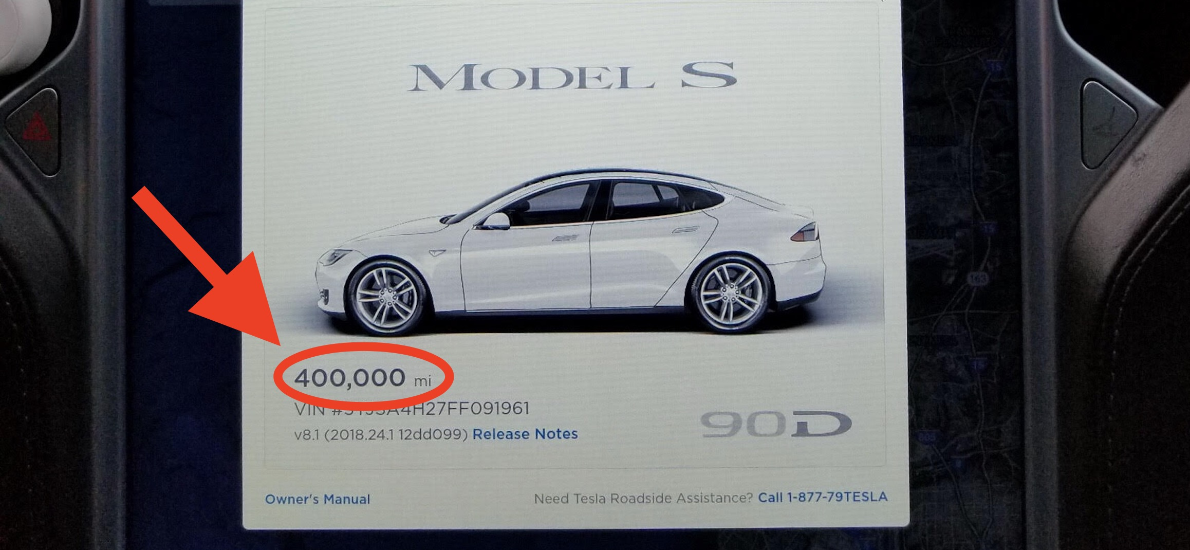 Here's how a Tesla Model S holds up after 400,000 miles in 3 years