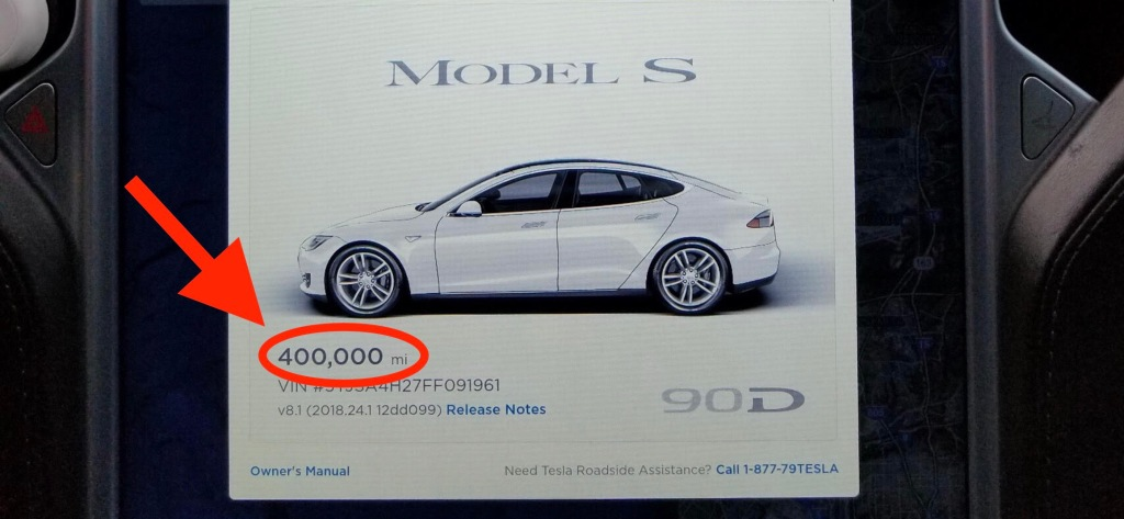 Here's how a Tesla Model S holds up after 400,000 miles in 3