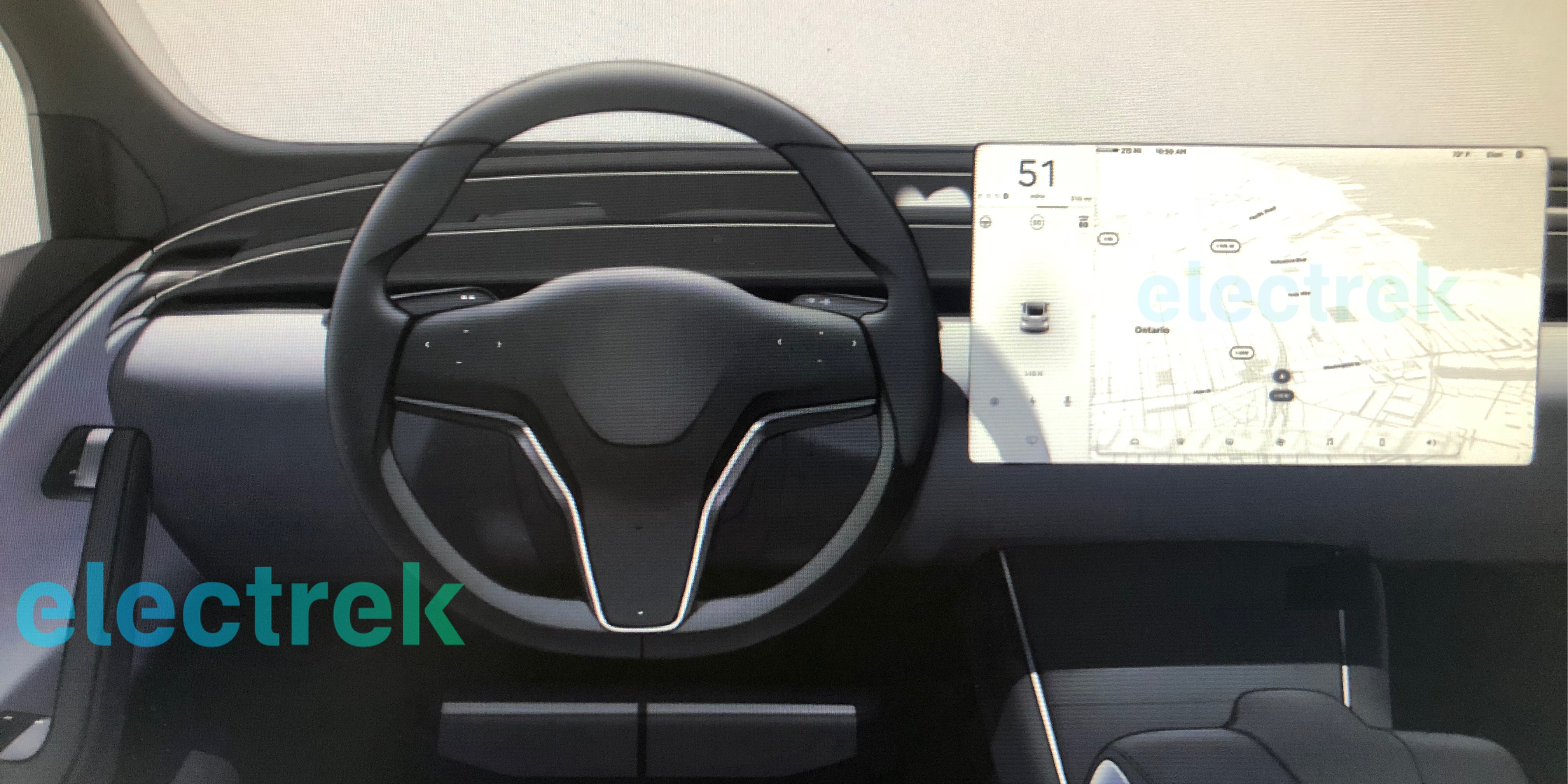 Exclusive First Look At Tesla Model S And Model X Interior Refresh Going Spartan Like Model 3 Electrek