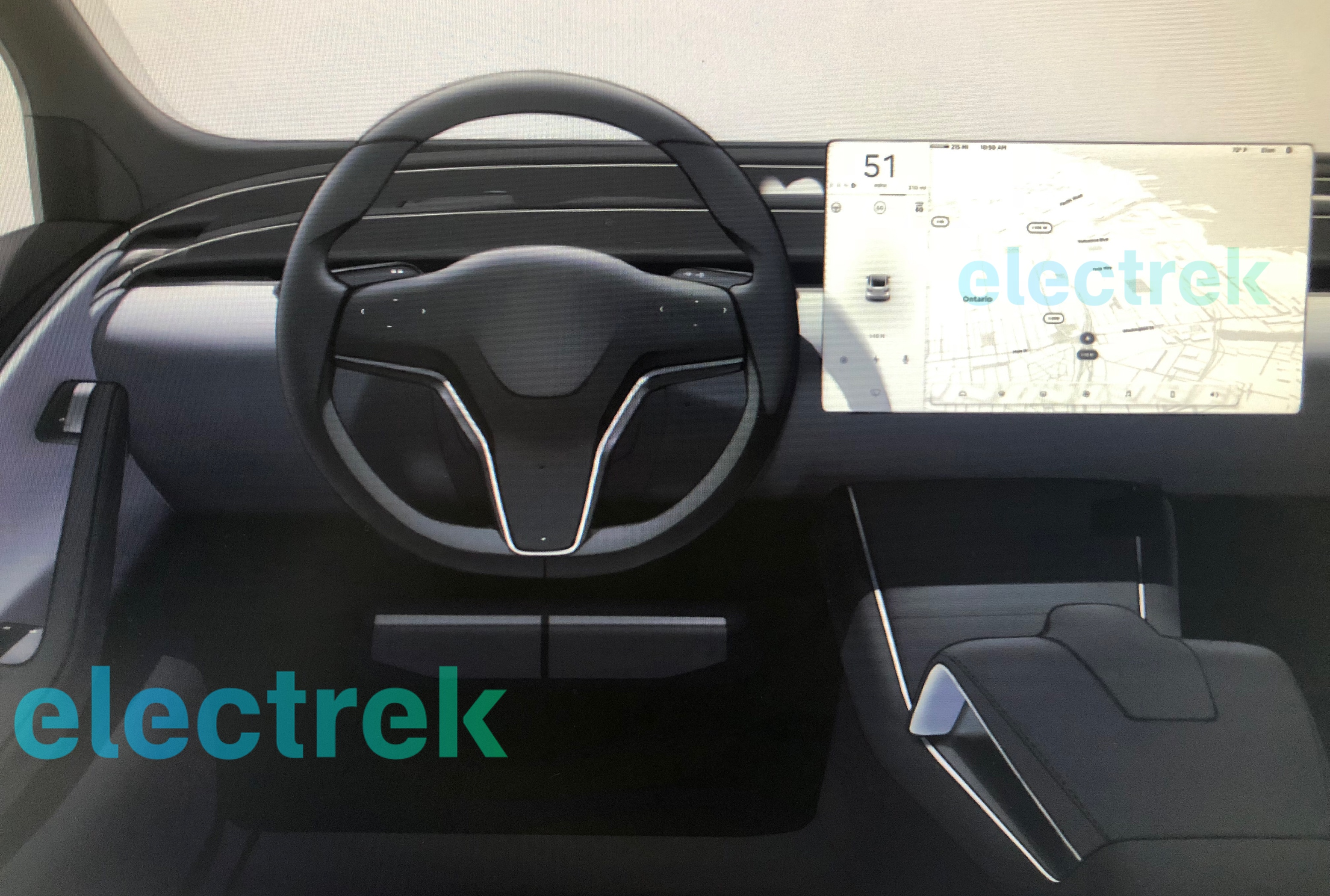 Tesla Could Use Factory Shutdown To Update Model S And Model X Interior Electrek