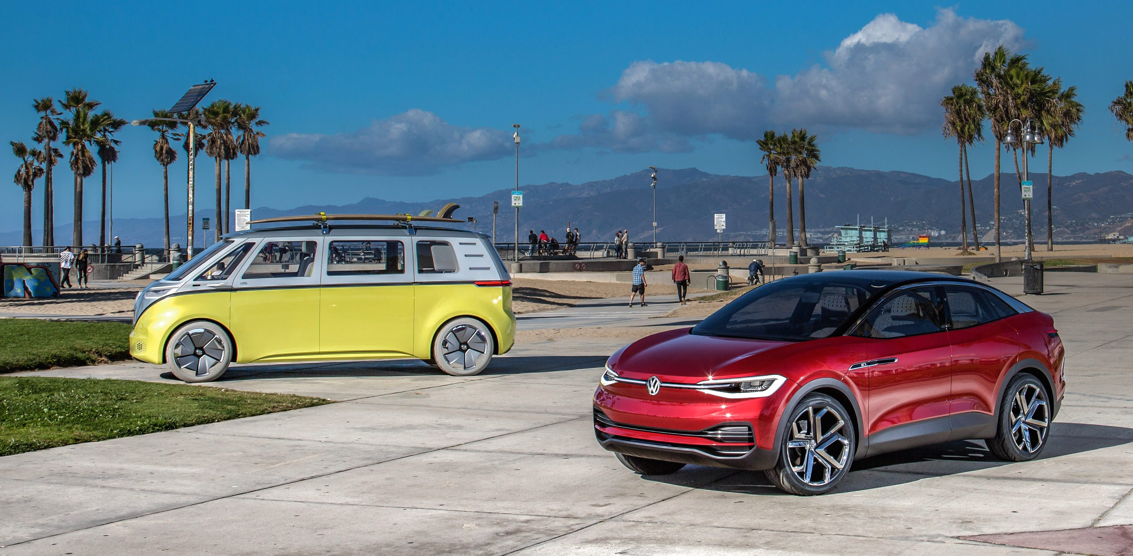VW plans to produce its all-electric microbus and crossover in the US