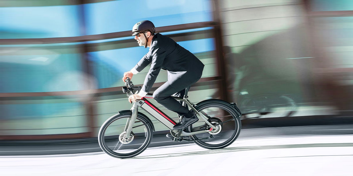 Here's all the gear you need for commuting by electric bicycle or motorcycle