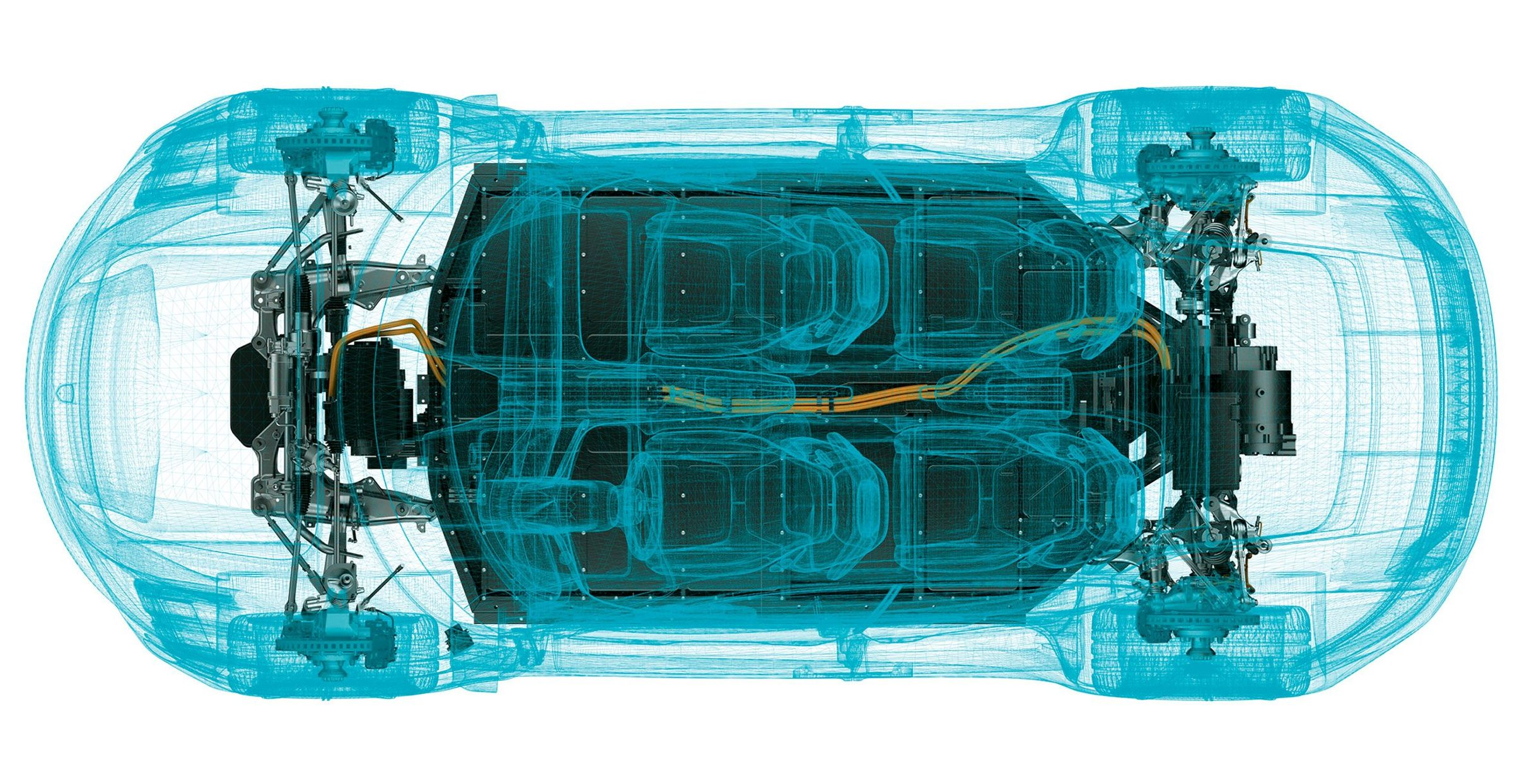 Porsche reveals and explains the Taycan all-electric powertrain in detail