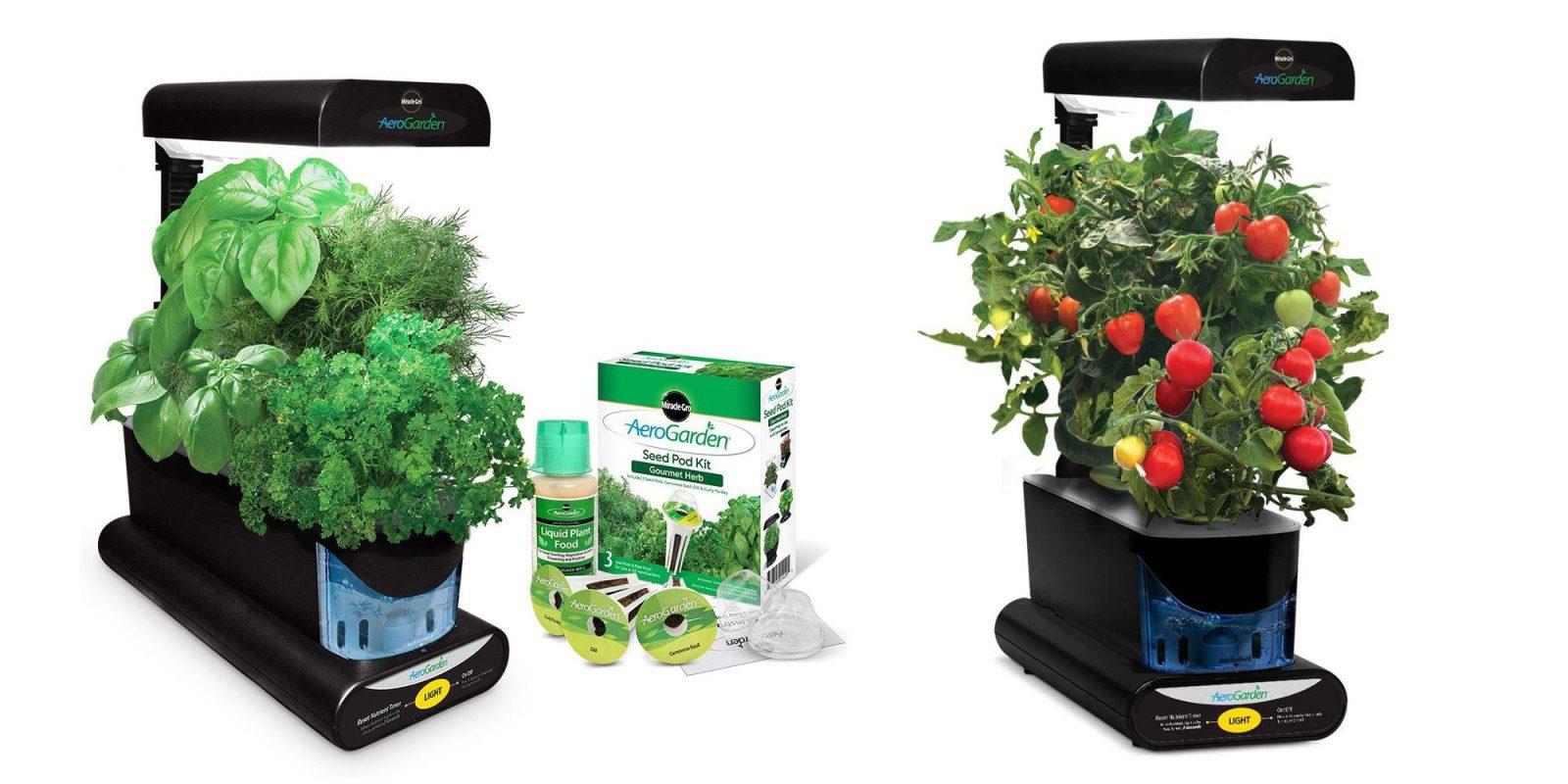 Green Deals: Miracle-Gro AeroGarden w/ Herb Kit $50 (Reg