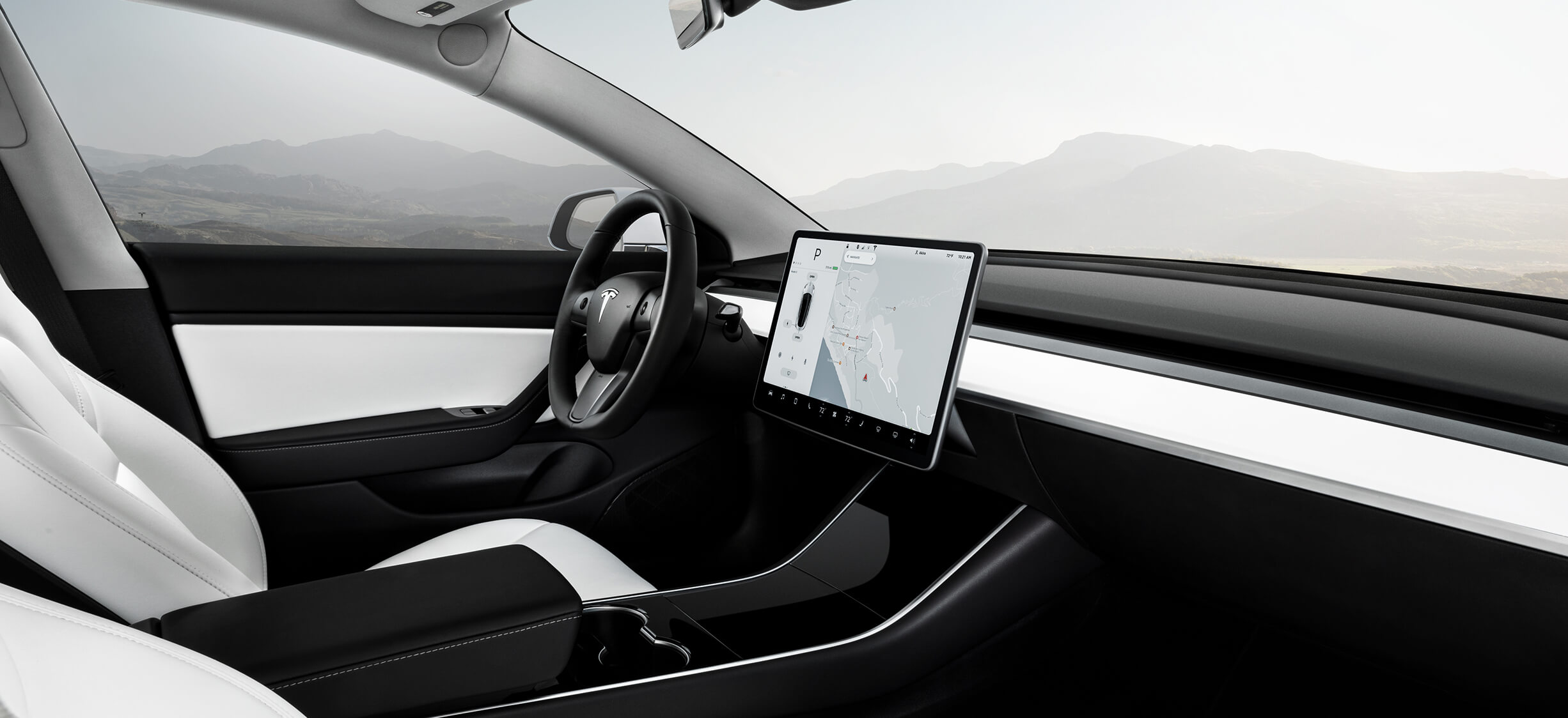 Seth Was Really Impressed By The White Interior When He Test Drove Performance Model 3 Last Week Calling It Stunning