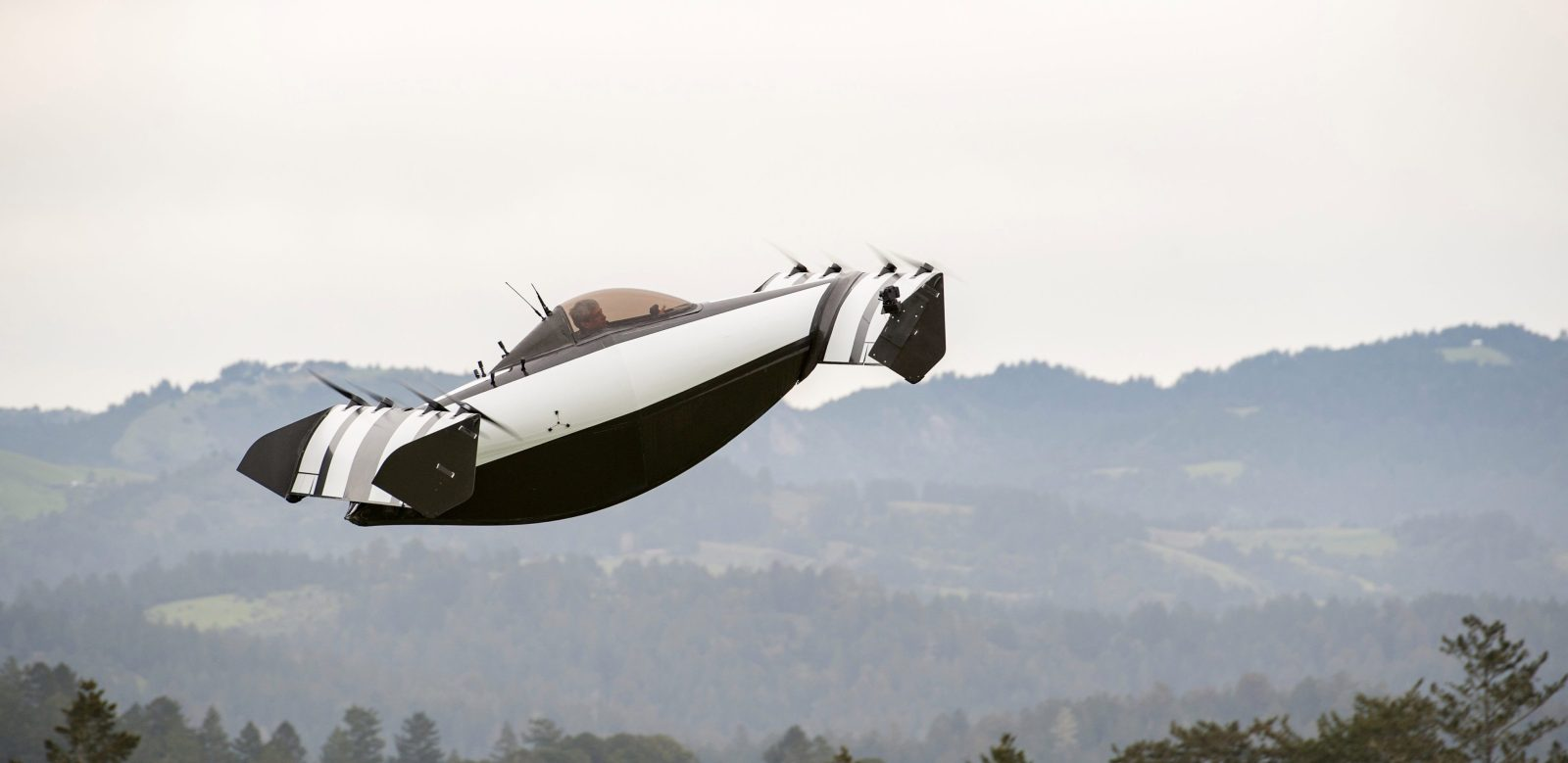 Uber Black Car List >> Watch impressive new all-electric personal VTOL aircraft working prototype - Electrek