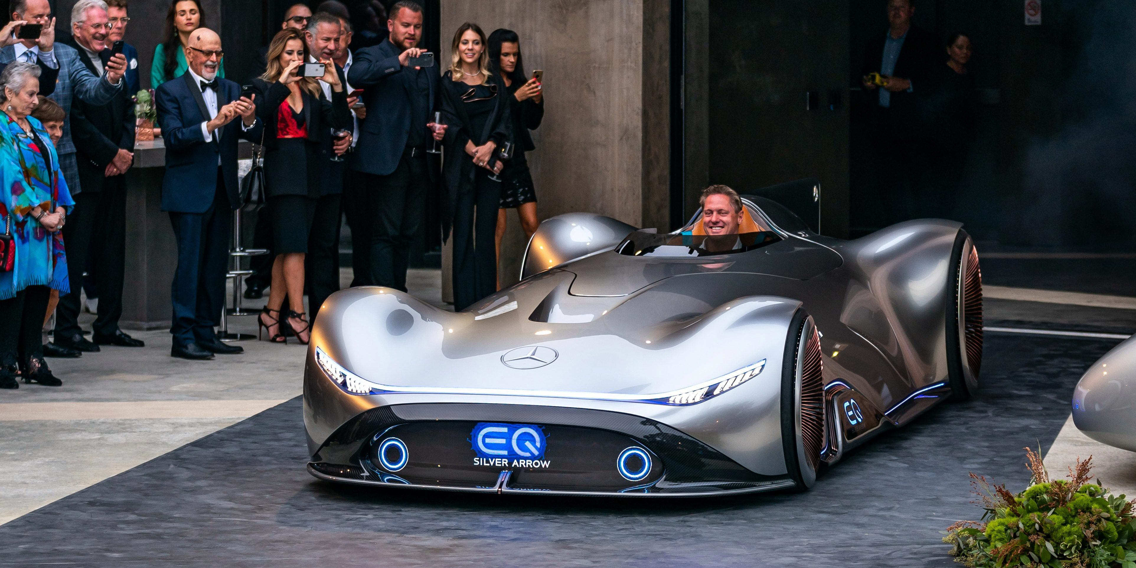 Mercedes Benz Unveils New All Electric Race Car Prototype