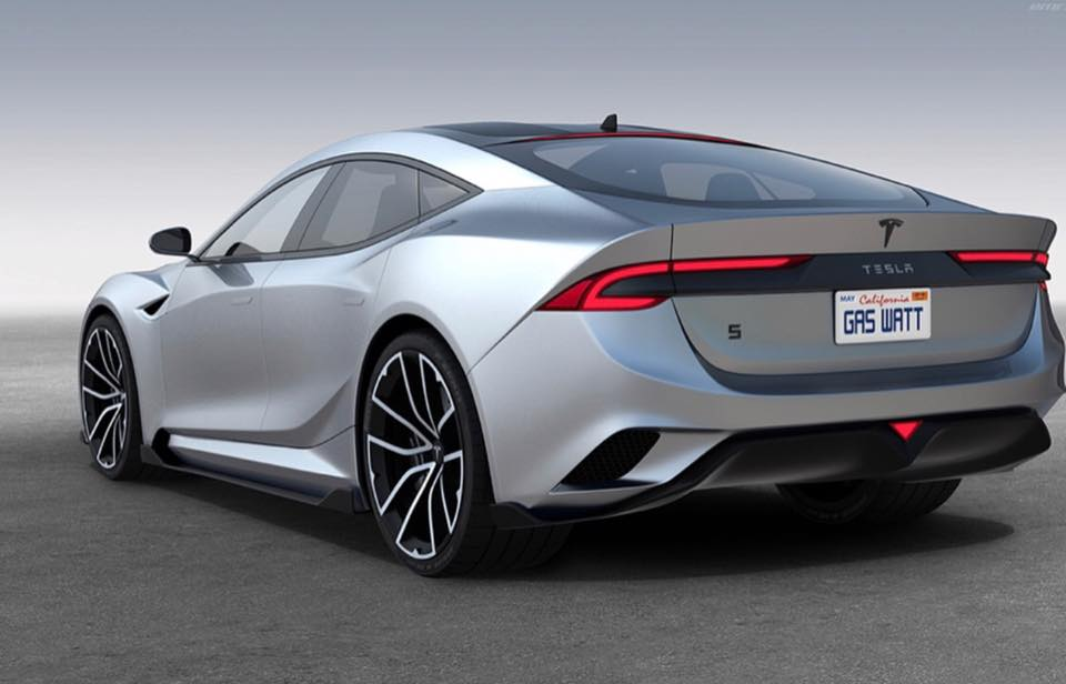 The Design Features Significantly More Aggressive Lines Than Cur Generation Model S