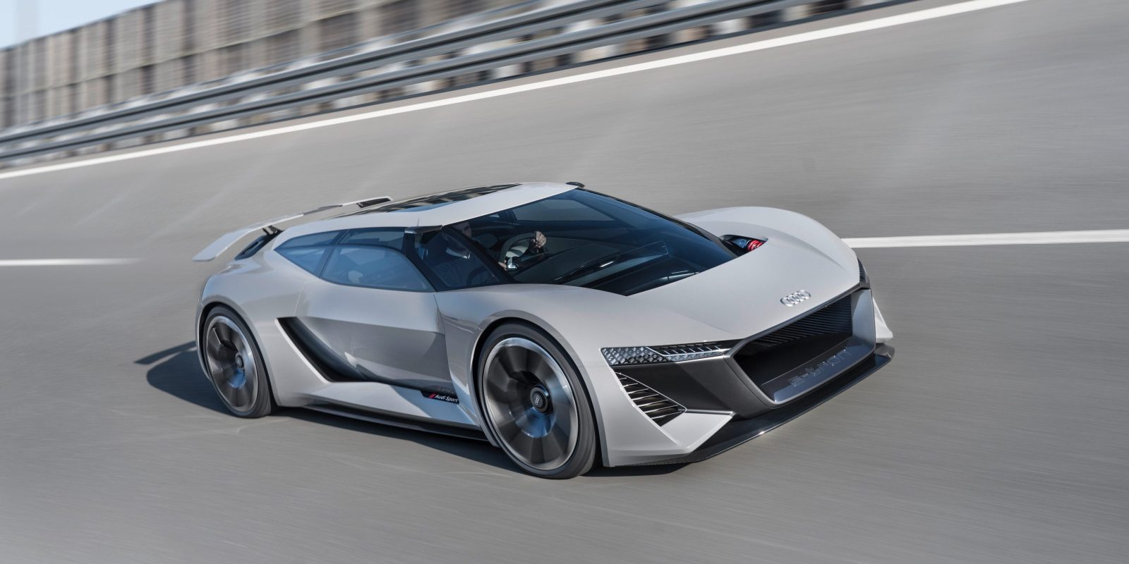 Audi Unveils New Allelectric Supercar Prototype With Solidstate - Audi super car