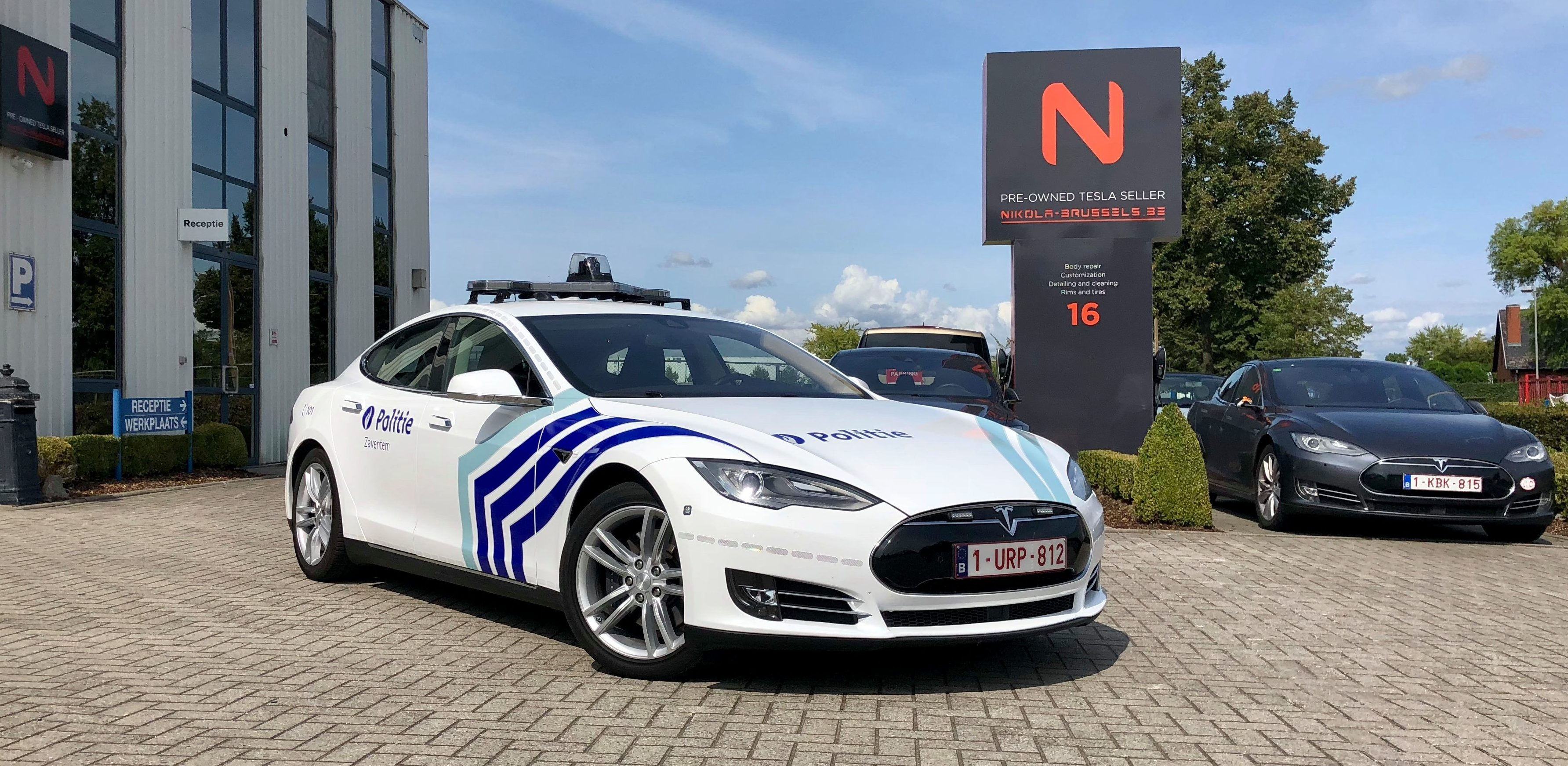 Ontario Quality Motors >> Tesla vehicles are now being deployed by Belgium police - Electrek