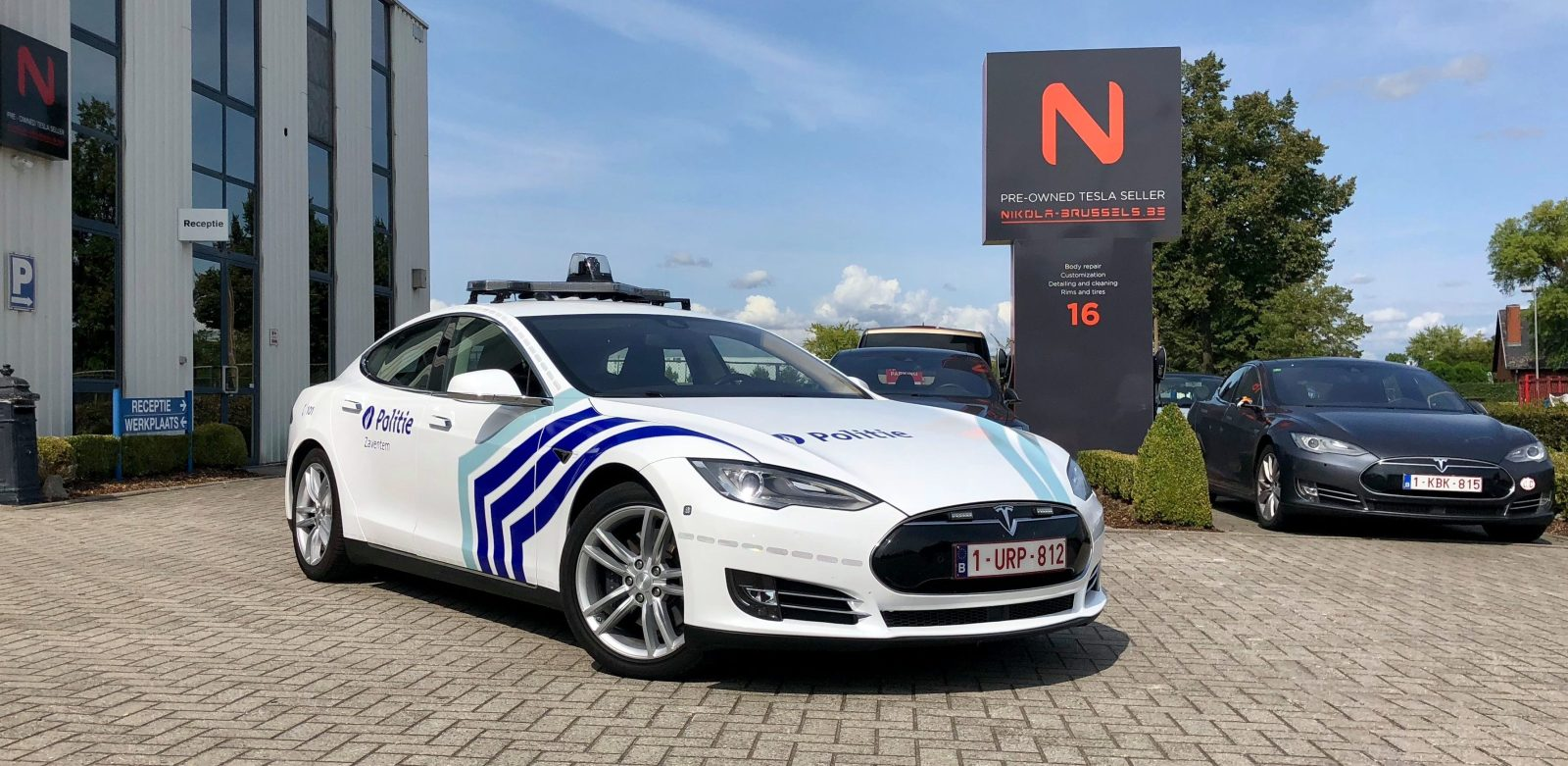 Ontario Quality Motors >> Tesla vehicles are now being deployed by Belgium police ...