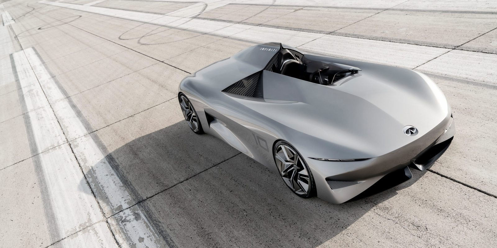 Infiniti Unveils New Daring All Electric Sdster Car Prototype