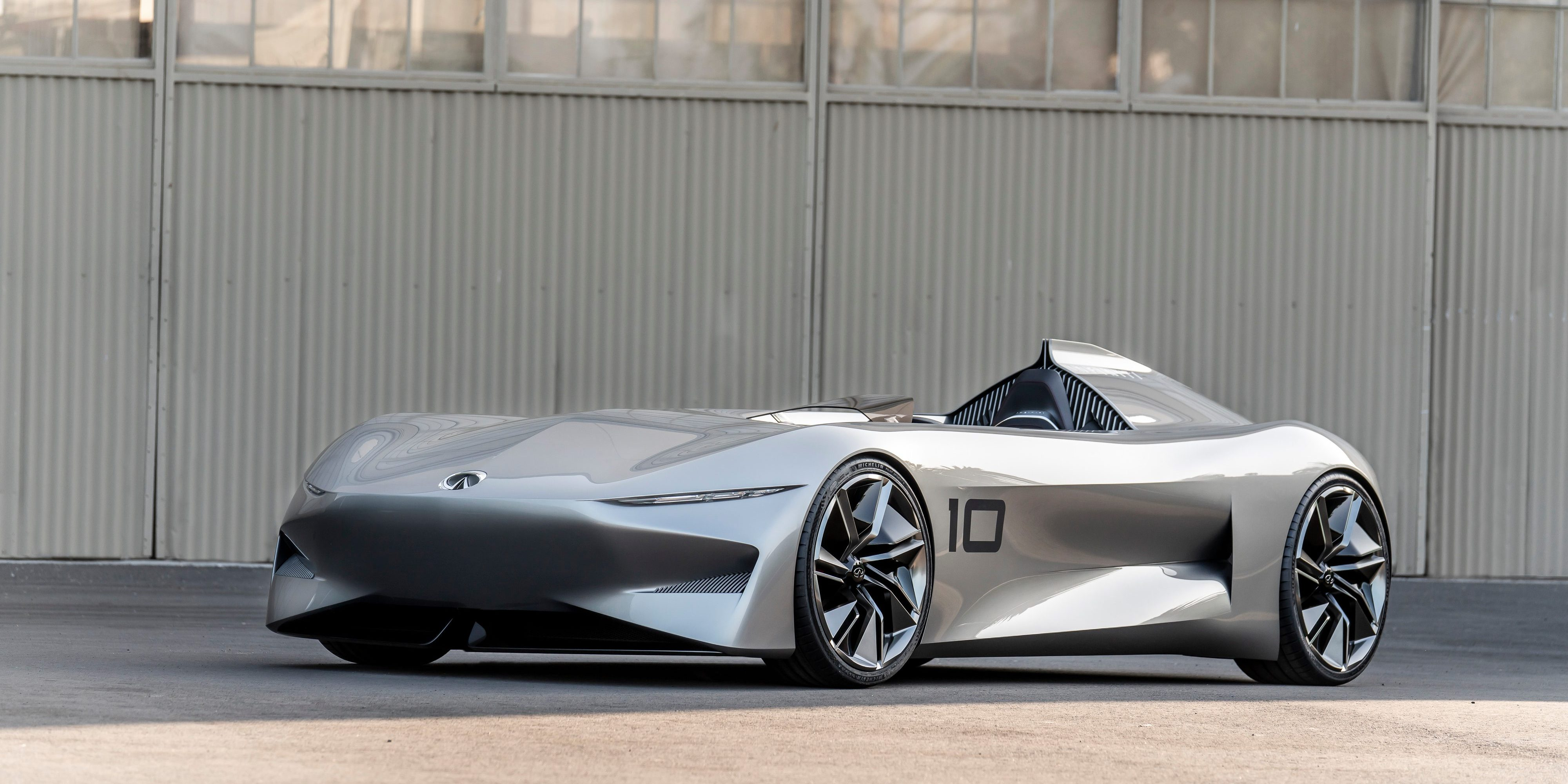 Bridging Past And Future The Infiniti Prototype 10 Recaptures Spirit Of Early Sdsters For An Era Electrified Performance