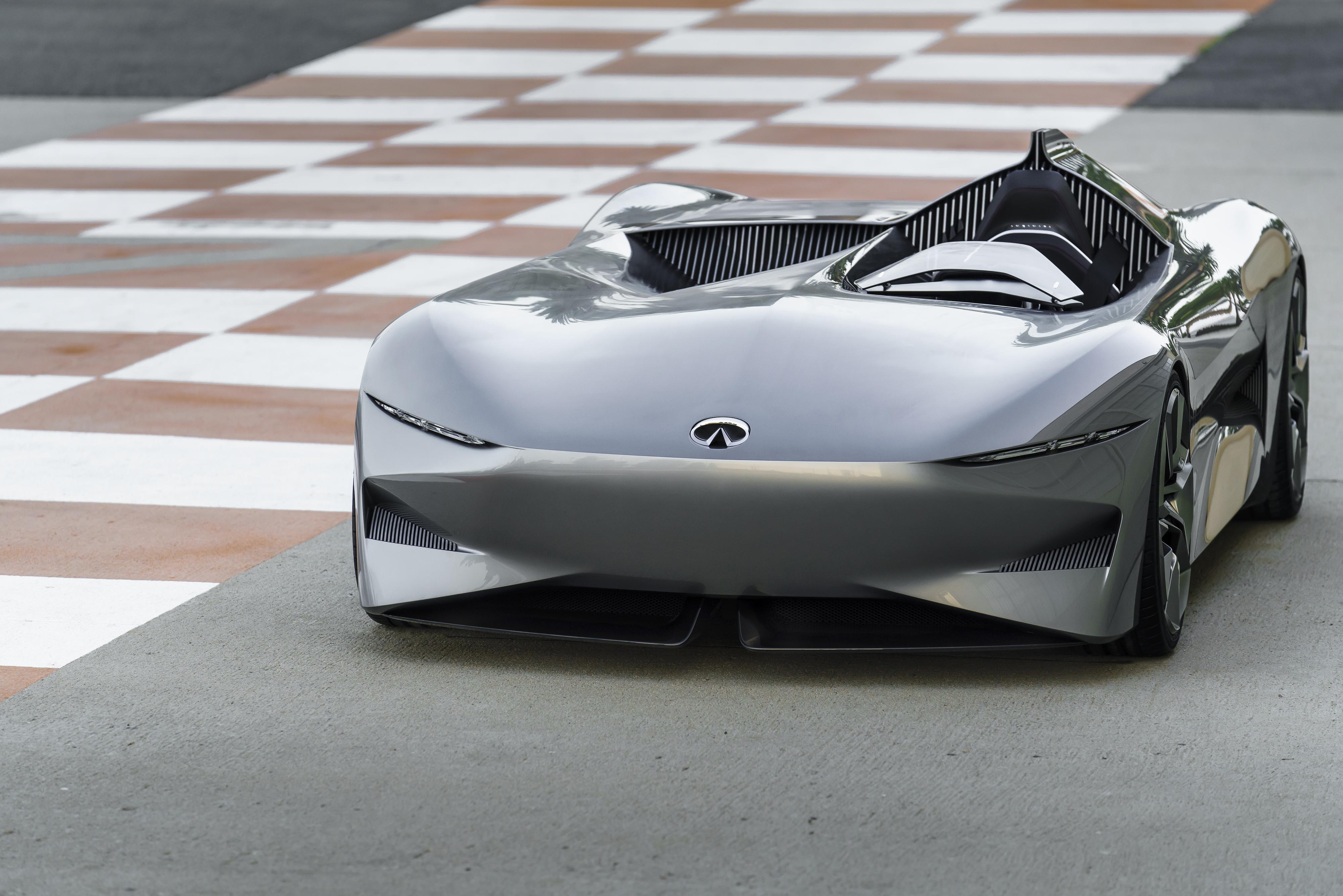 Infiniti Unveils New Daring All Electric Speedster Car Prototype