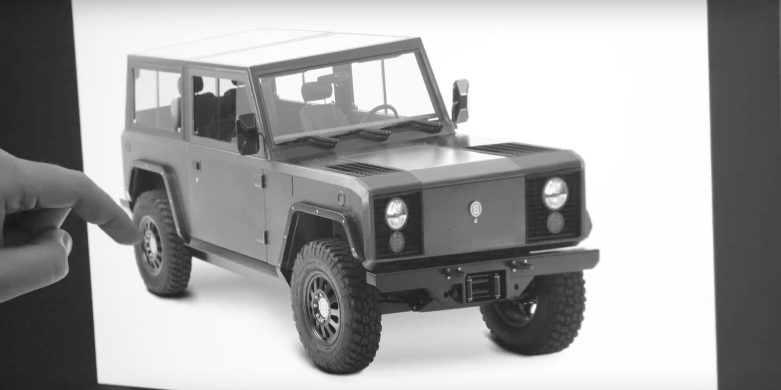 Bollinger Gives A Fascia Refresh To Its Upcoming All Electric B1 Truck