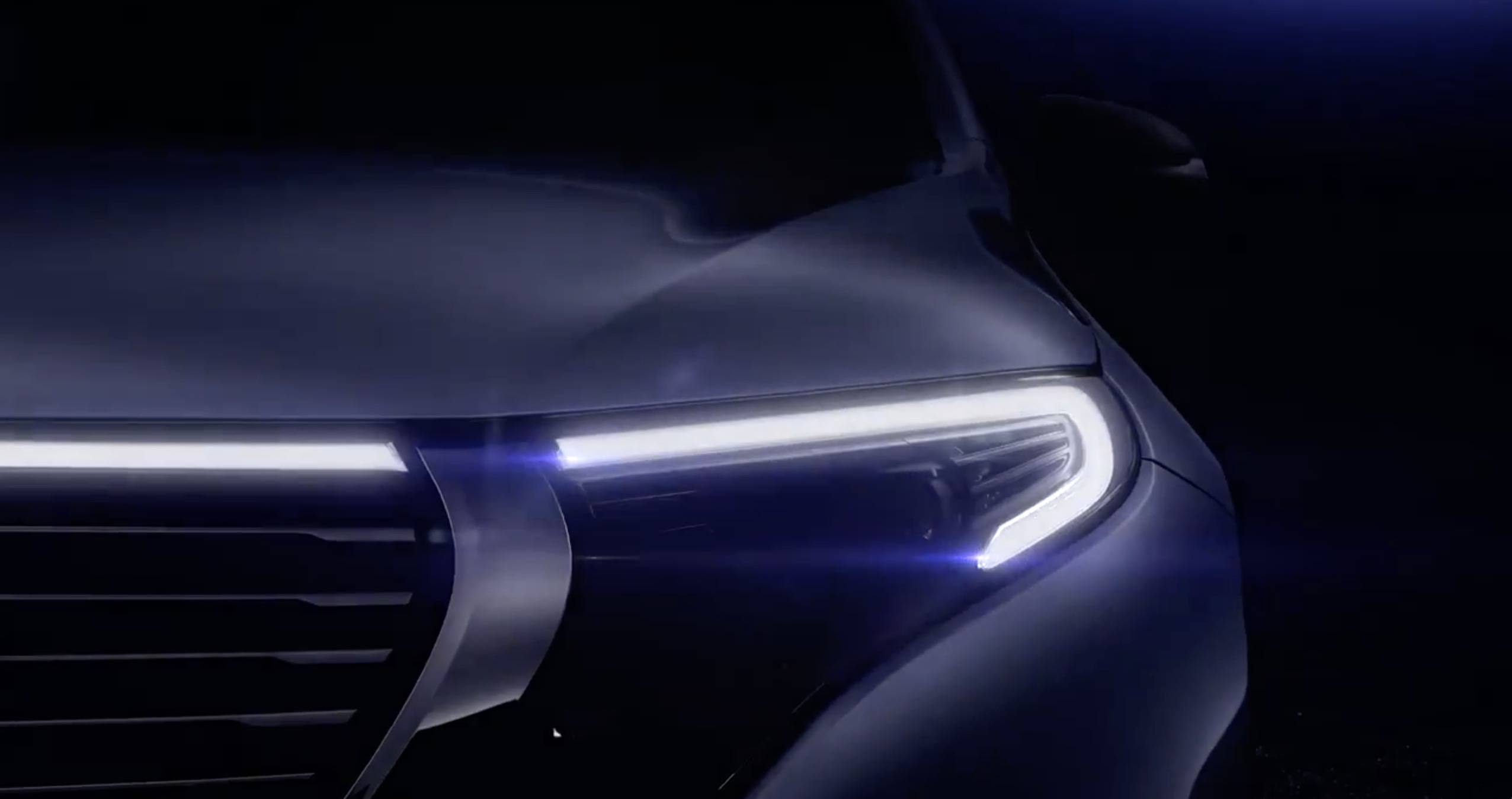 Mercedes Benz Unveils First Image Of Production Eqc