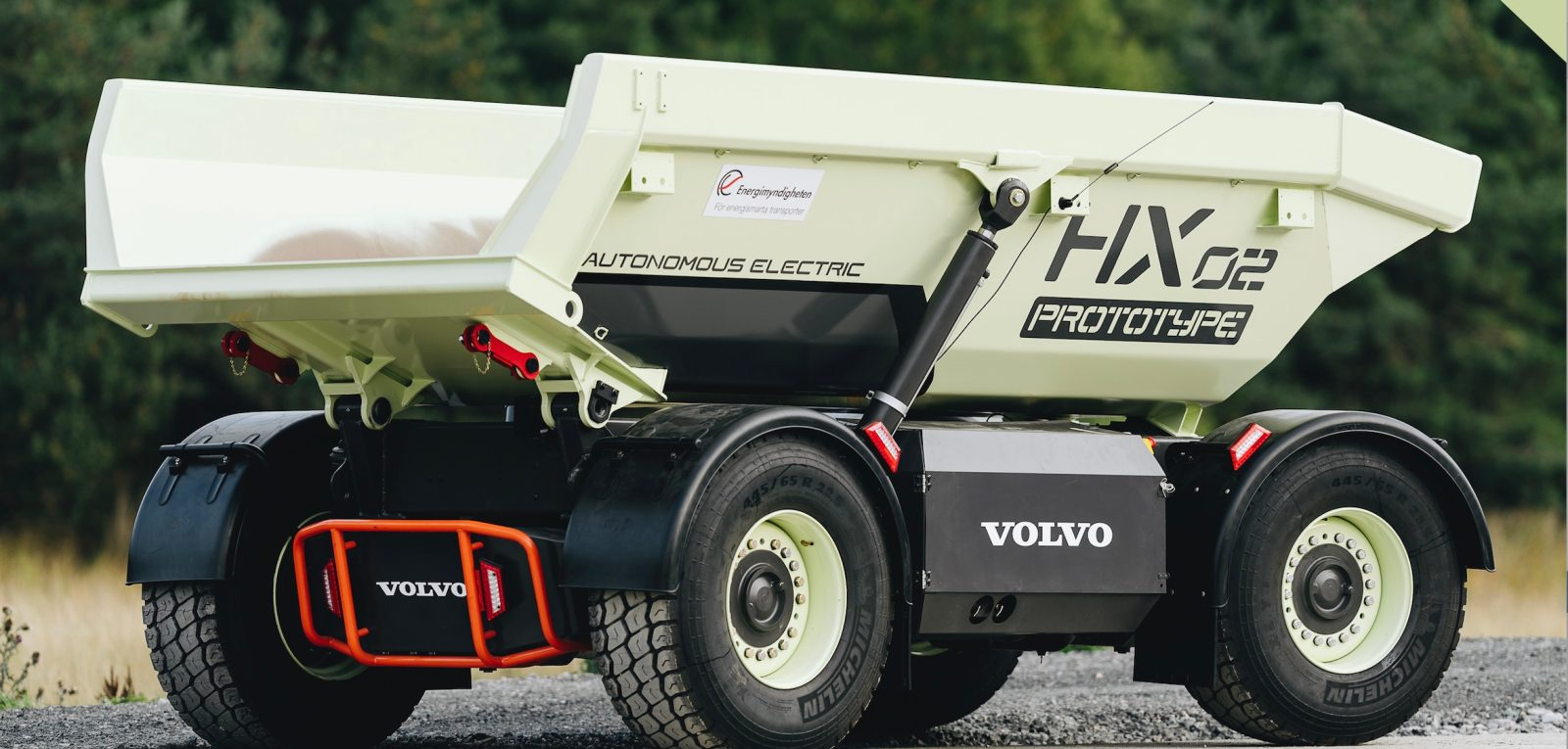 Volvo deploys several new electric mining vehicle prototypes