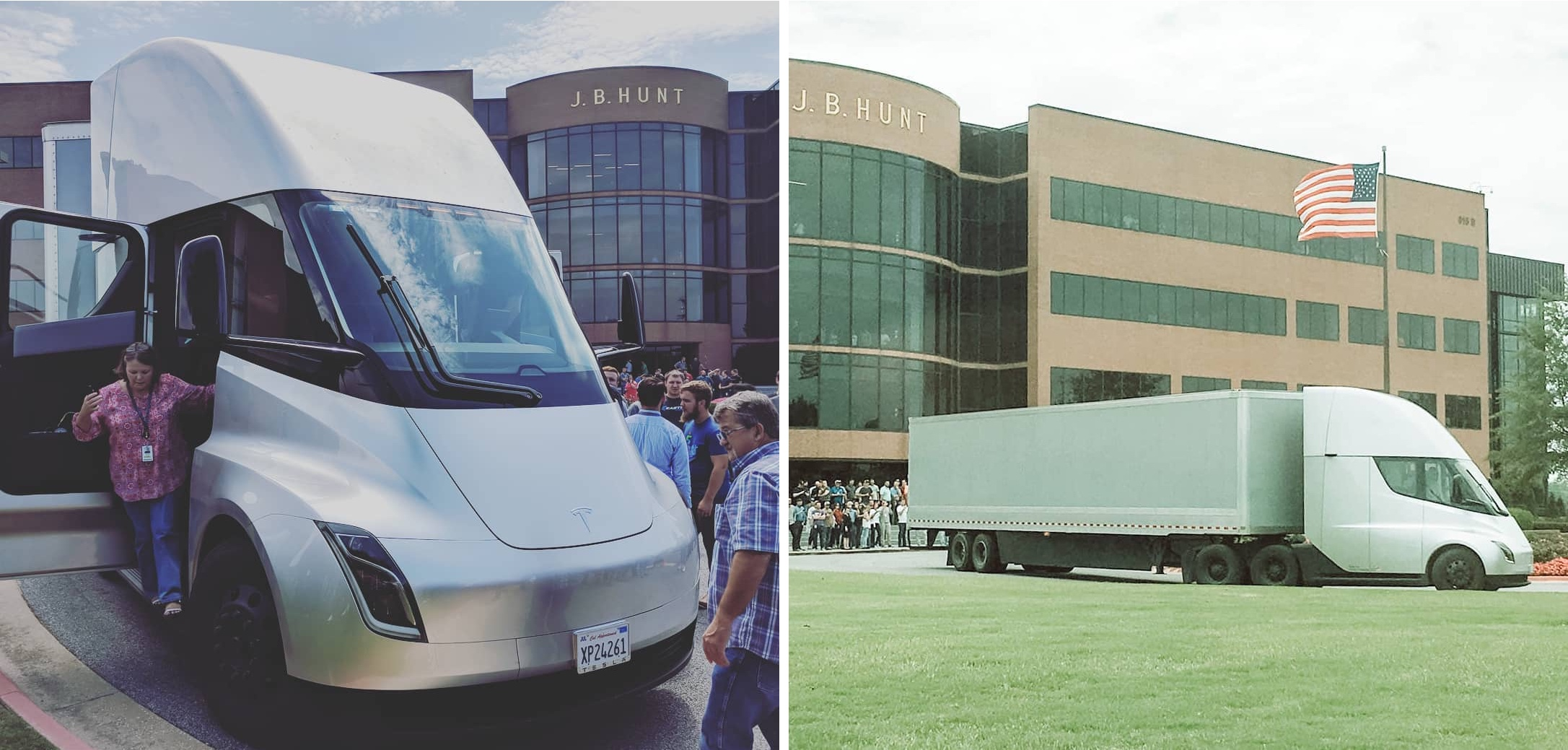 Tesla Semi Prototype Shows Up At Potentially Critical