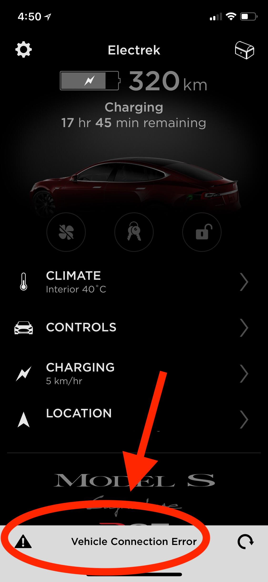 Tesla's fleet internet network is down [Updated] - Electrek
