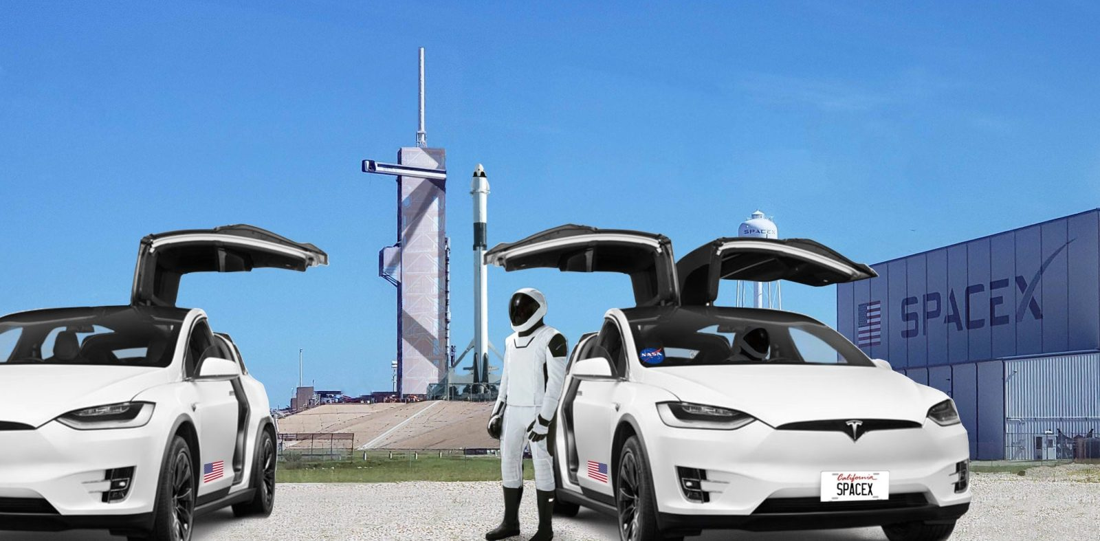 Tesla Model X will carry first astronauts flying in SpaceX's ...