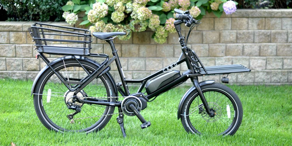 Electrek Review The Cero One Is Part Electric Cargo Bicycle Part