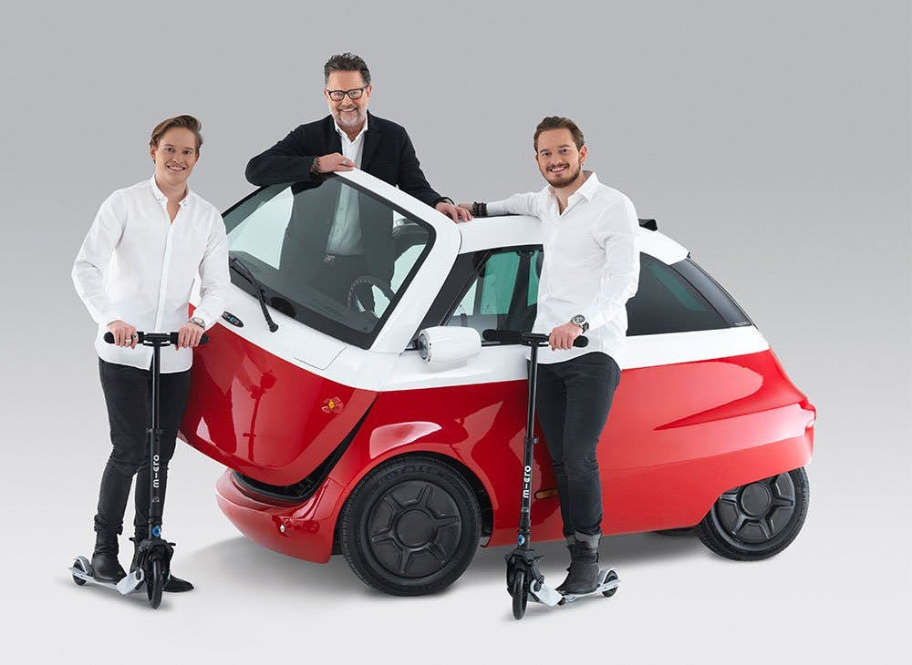 The Isetta-style Microlino electric bubble car surpasses