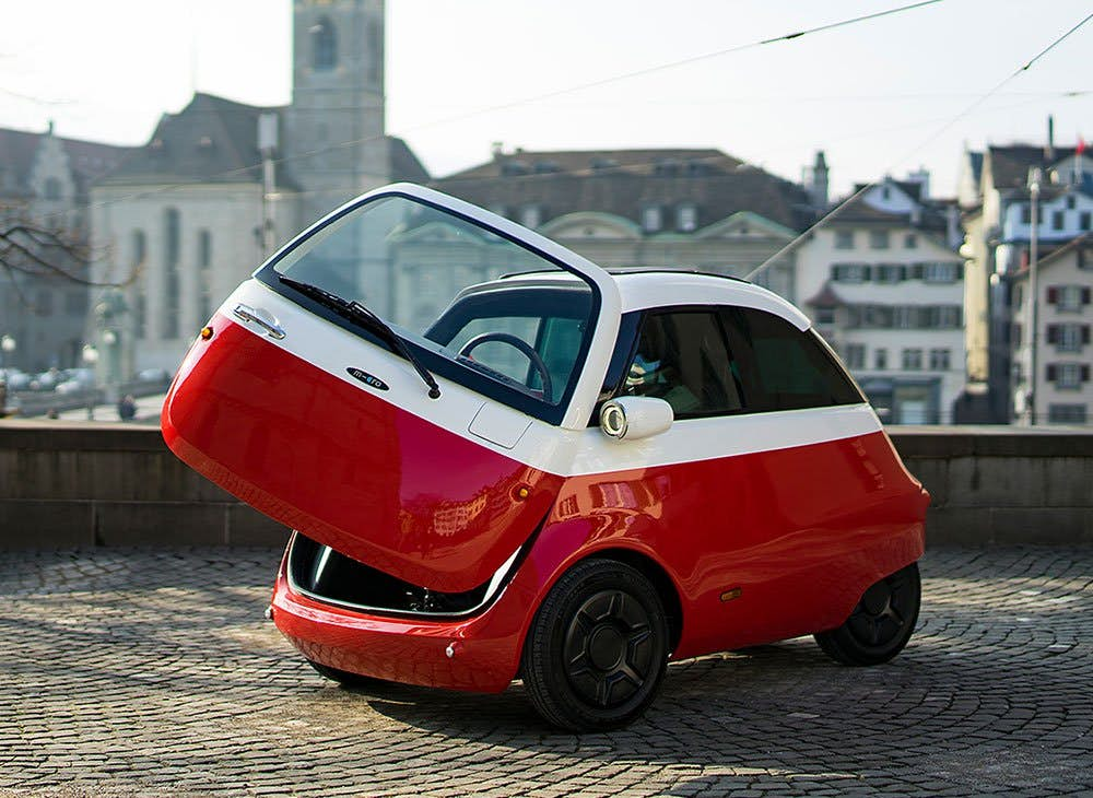 This Adorable Little Electric Car Is Ready To Roll At Sds Up 56 Mph