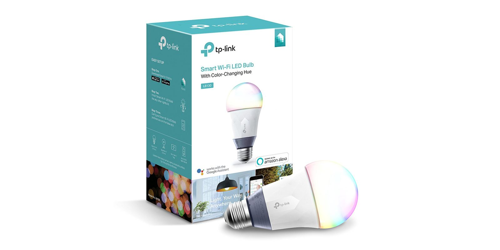 Save 50% on this smart RGB LED bulb, now $20 + more in today's Green Deals