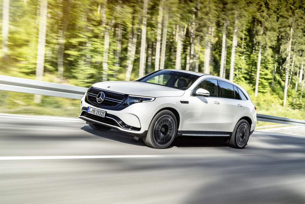 Here Are A Few Images Of The Eqc Electric Suv Released After Launch Event In Stockholm Today