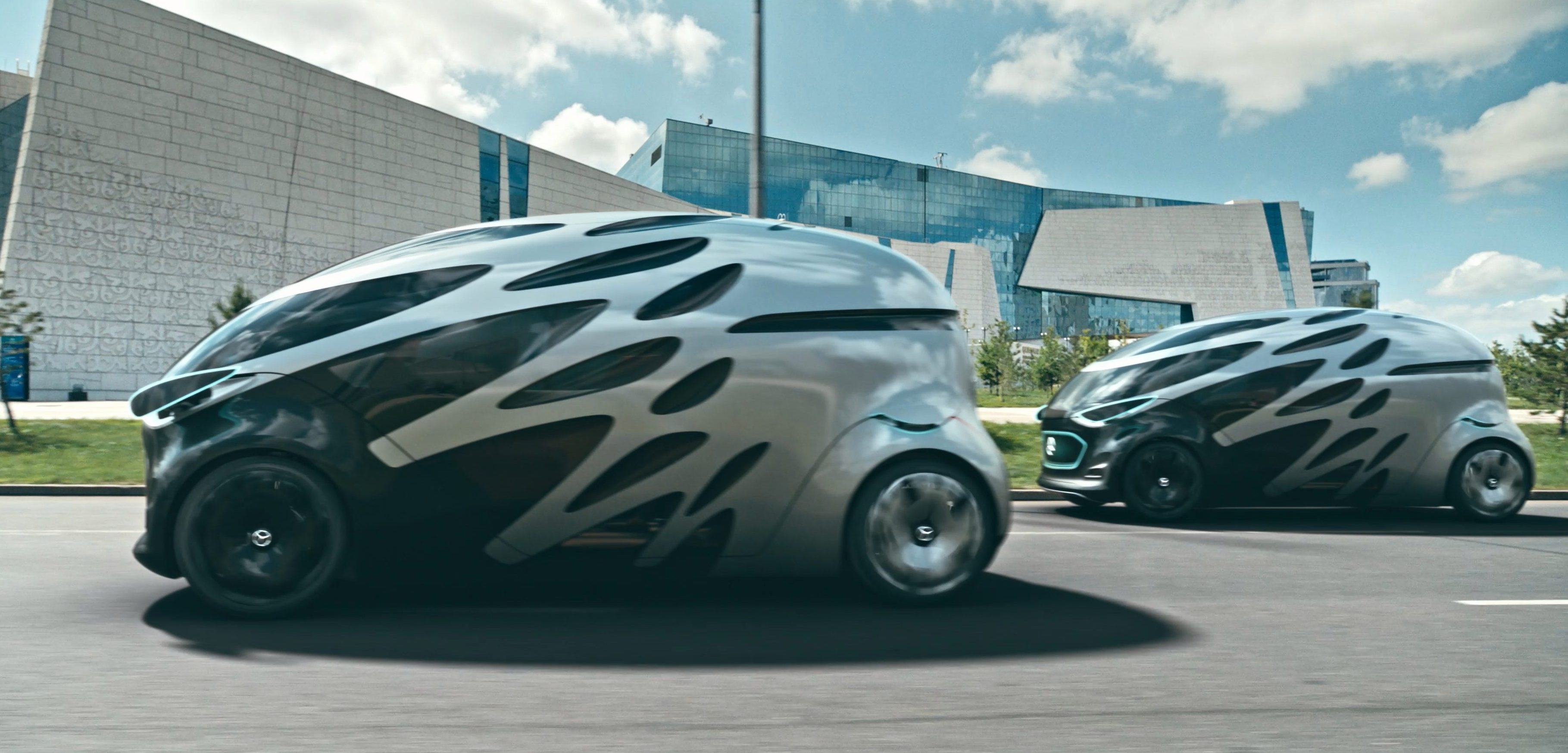 Mercedes Benz Vans Unveils Ugliest Electric Vehicle Concept To Date U2013 Why?