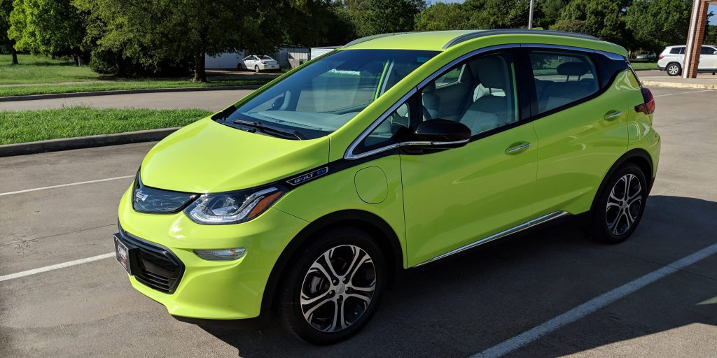 First look at 2019 Chevy Bolt EV with new 'Shock' color ...