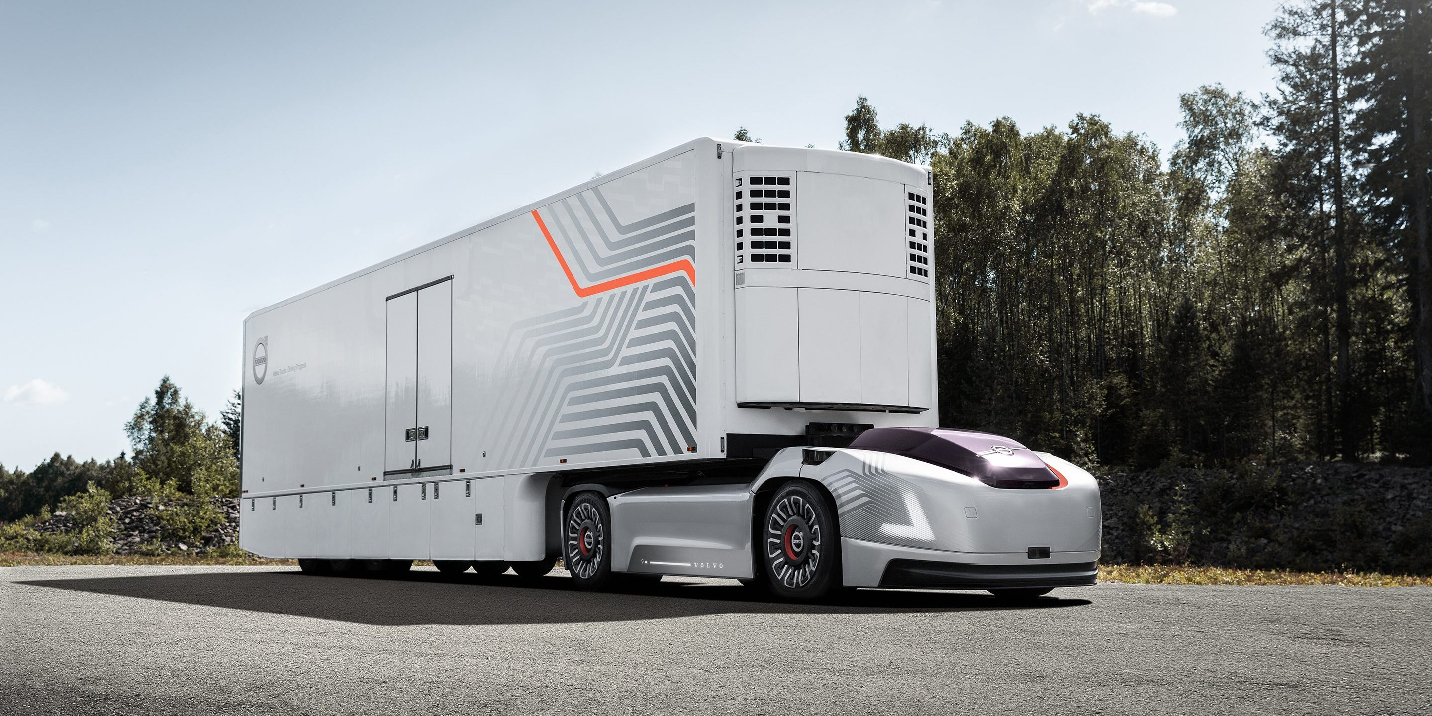 Volvo Unveils All Electric And Autonomous Truck Without A
