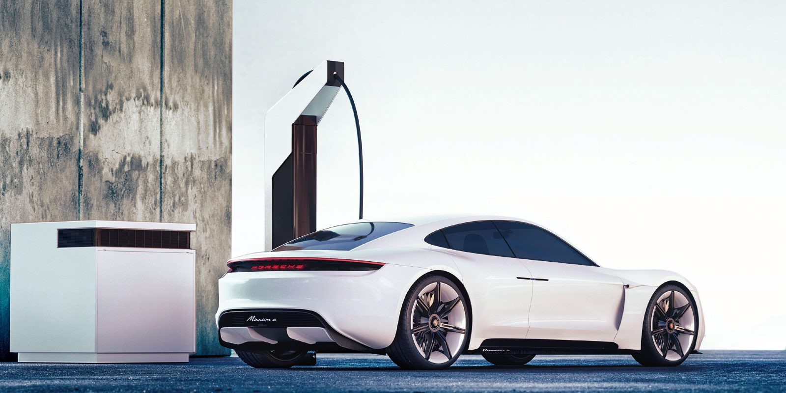 Porsche unveils its plan for electric vehicle fast-charging stations: Electric pit stop