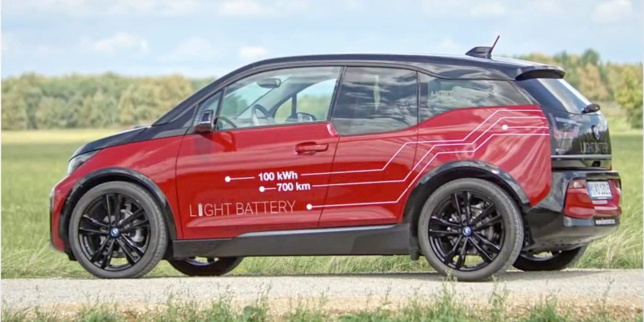 BMW i3 gets a 100 kWh battery pack for 435 miles of range as a proof-of-concept by Lion Smart