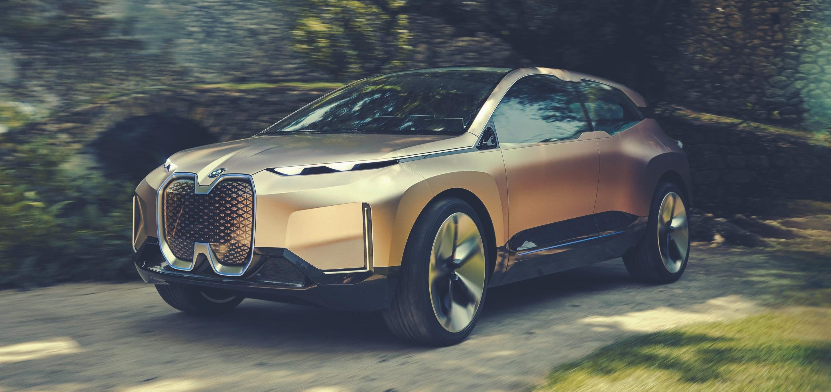 BMW New Car >> Bmw Releases New Images Of Inext Electric Car Prototype