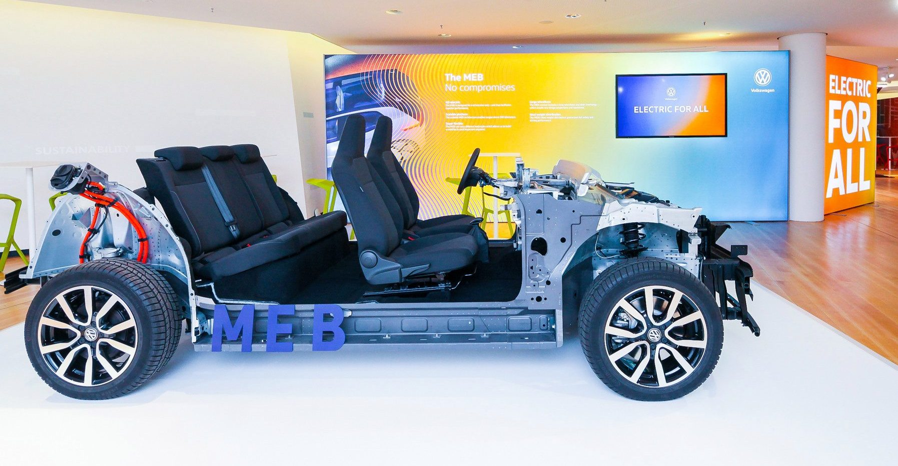 Vw Unveils Meb Platform For Electric Vehicles Launches