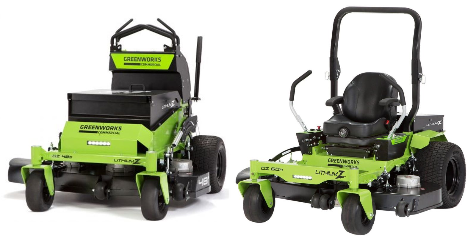 first look: greenworks commercial lithium z industrial