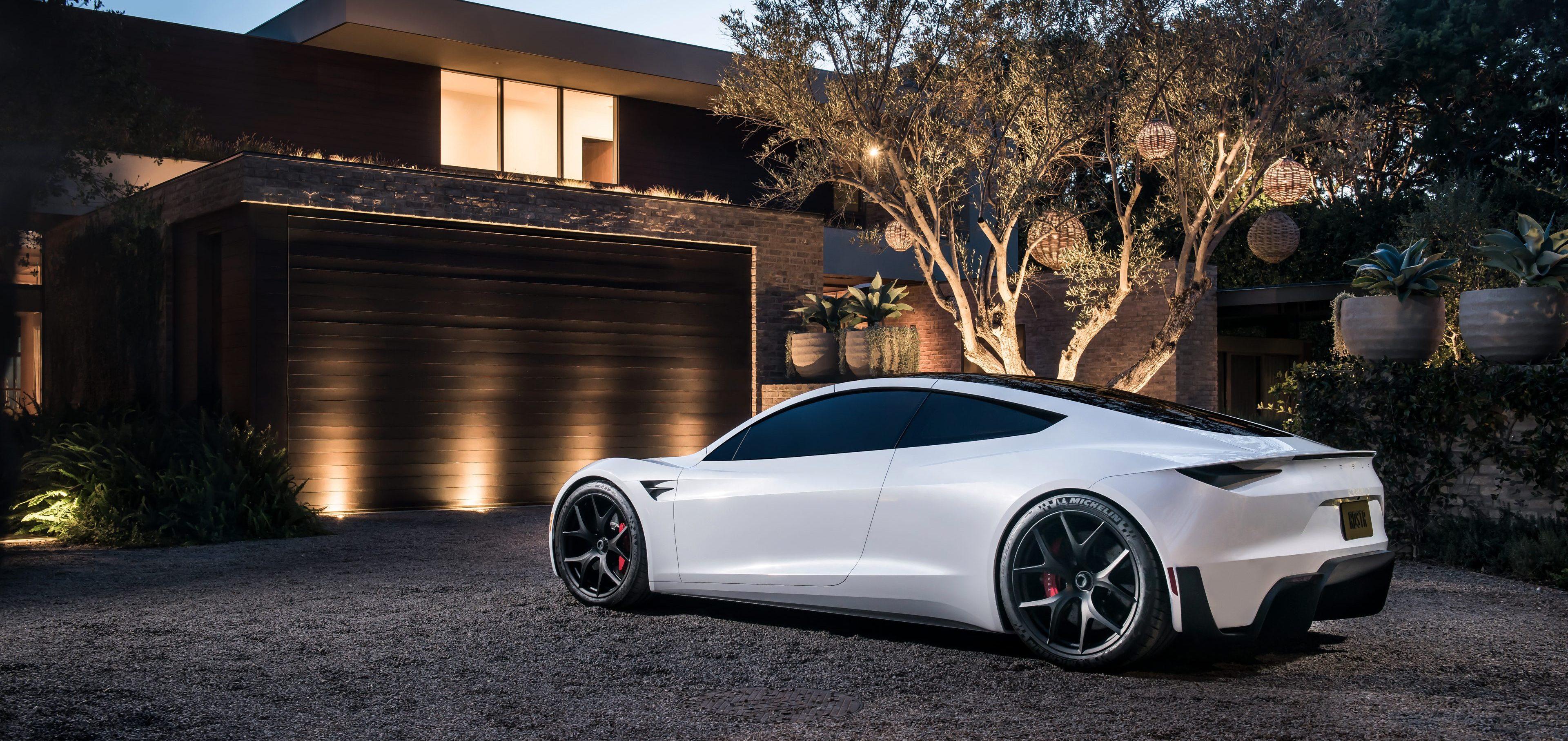 Tesla Image: Tesla Releases New Roadster Pictures