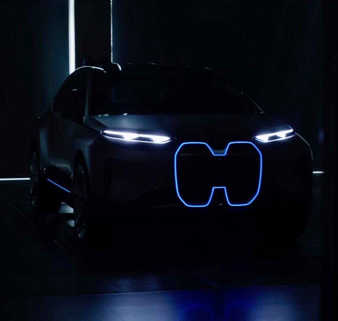 First Look At Bmw S Vision Inext Next Gen Electric Car In New