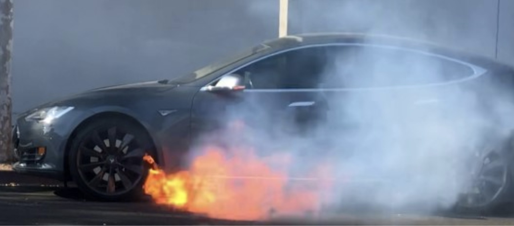 Tesla says battery fire without crash in LA was 'extraordinarily unusual occurrence', still investigating the cause