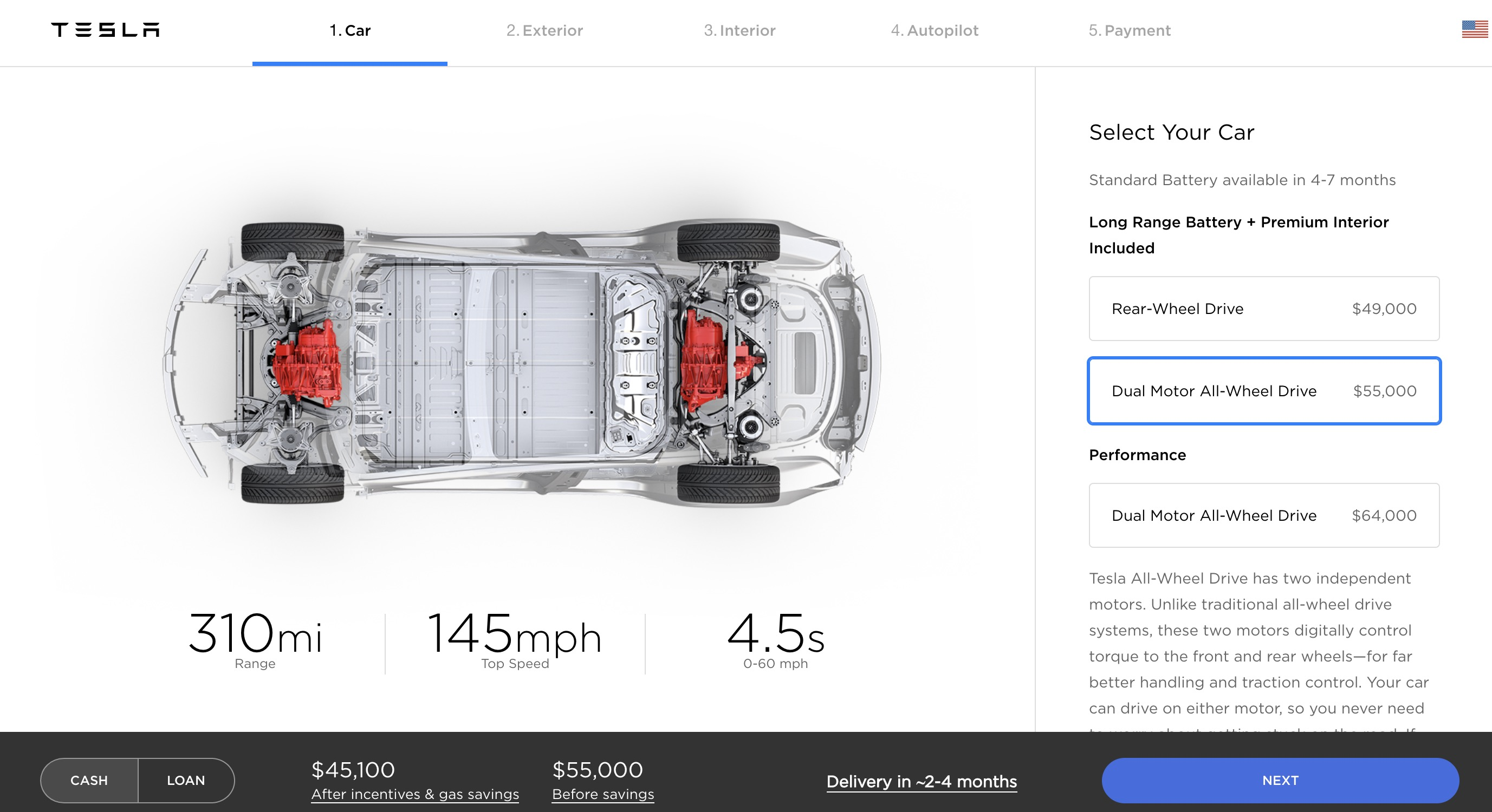 Tesla Model 3 Awd >> Tesla Increases Price Of Model 3 Dual Motor Awd Again Electrek